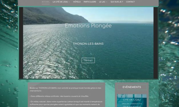 Emotions plongée