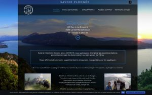 Atelier du Web - Plongeesavoie - Accueil