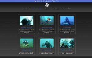 Atelier du Web - Profil Plongee - Ecole